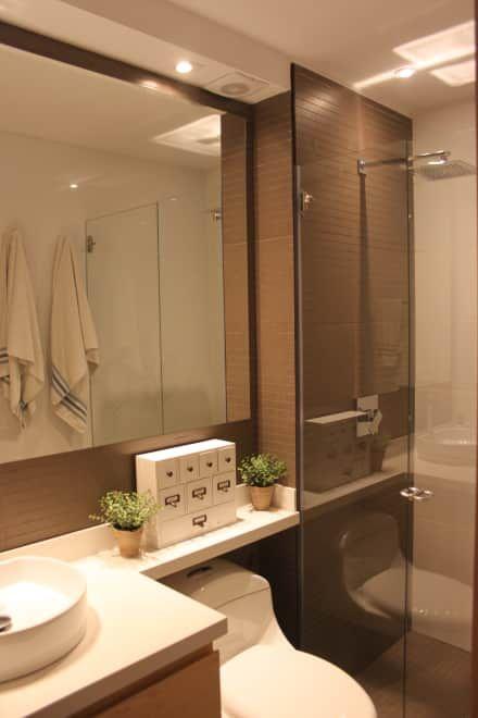Baño de Habitaciones: Baños de estilo moderno por Home Reface