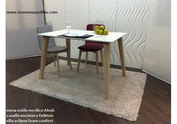 20 best images about mesa cocina estilo nordico en madera for Table 100x70
