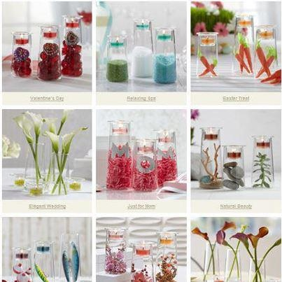 Lots and lots of different ideas! #symmetrytrio #partylite