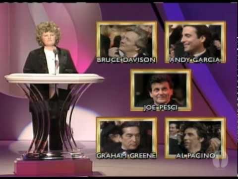 12/19/15   7:06a  The Academy Awards  Ceremony 1991: Joe Pesci Sup Actor  Oscar for ''Good Fellas''  1990 youtube.com Play Vid
