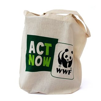 Act Now shopping bag|wwf.gr