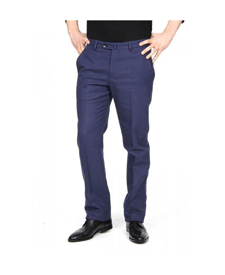 Mens trousers ARMANI COLLEZIONI 3020 Blu - titalola.com
