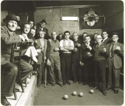 Il Vagabondo - where you can play a game of indoor Bocce ball while having a plate of the best veal parmigiana in the city!