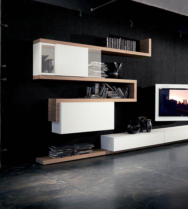 Fimar - italian furniture, adjustable tv-racks, tv stand, modern living area, design beds, wardrobes with tv