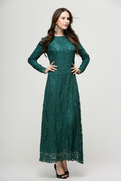 Exclusive lace dress 86076
