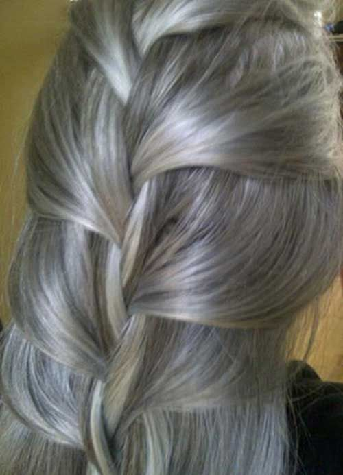 25 New Gray Hair Color …
