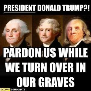 Donald Trump and Founding Fathers - Occupy Democrats