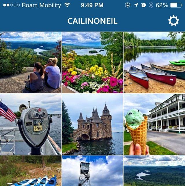 The Best Instagrams of the Adirondacks and Thousand Islands #EatPlayLoveNY #Adirondacks #AdirondackCoast #ThousandIslands #NewYorkState