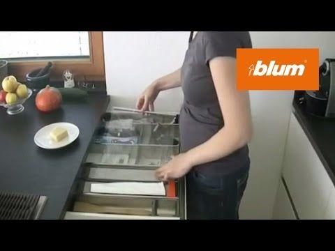 ORGA-LINE foil dispenser in the daily kitchen work