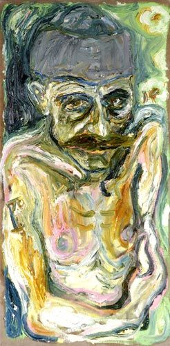 Self Portrait in Hat - Billy Childish