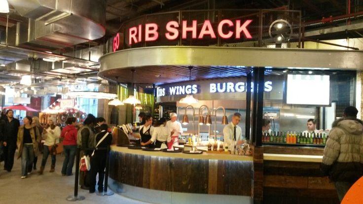 Chicago rib shack trinity kitchen food kiosk truck
