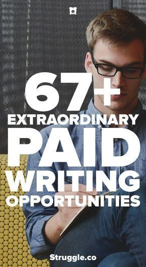 75+ Paid Writing Opportunities – #earn #Opportunities #PAID #writing – Ava