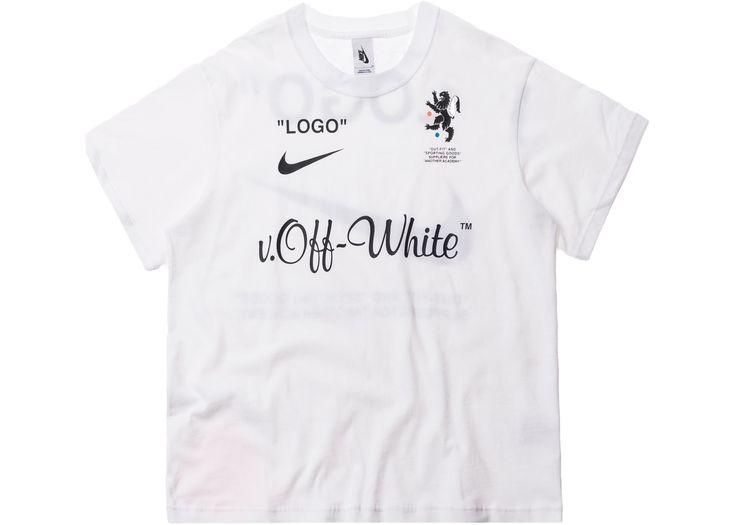 Nikelab x OFF-WHITE Mercurial NRG X Tee White | Hooded ...