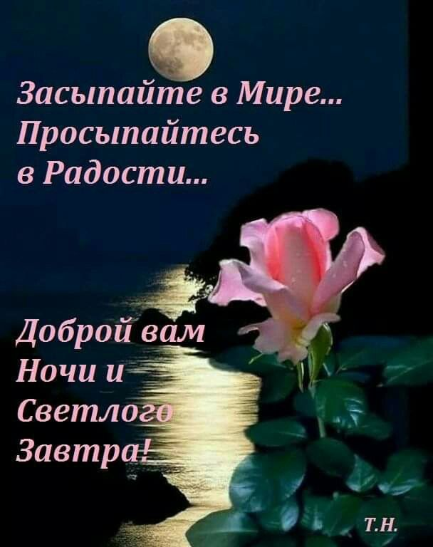 Доброй ночи друзья открытки православные