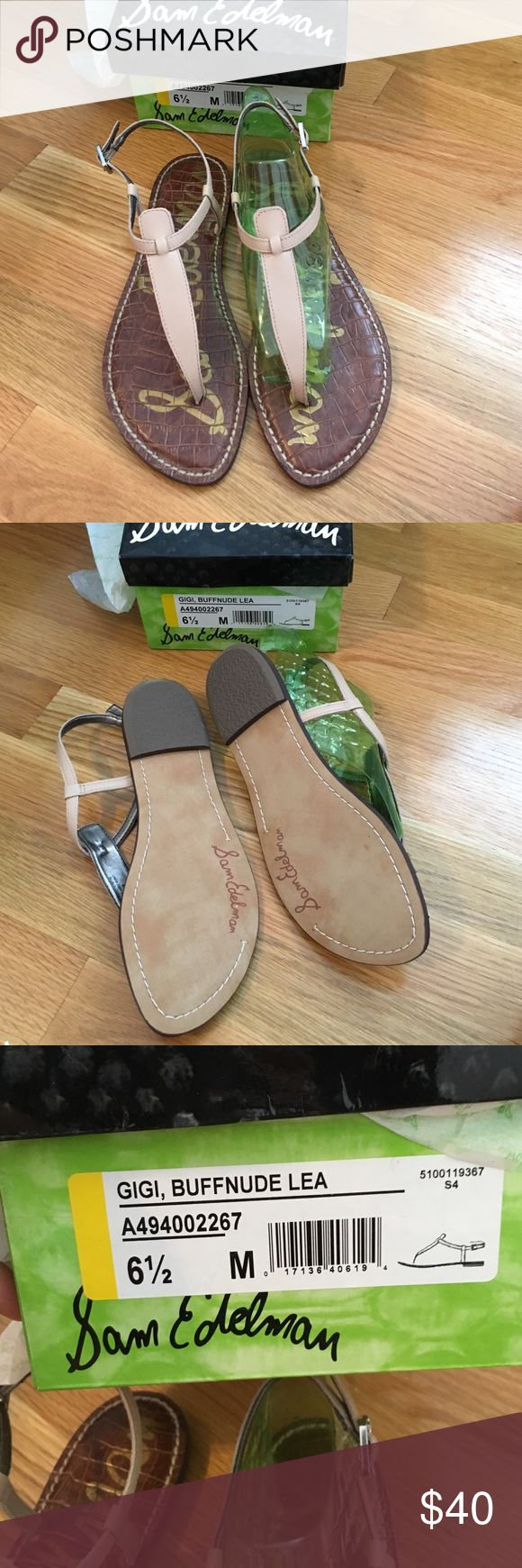 NWT Sam Edelman Gigi Sandal Never worn! Still in the box with original packaging. Sam Edelman Shoes Sandals