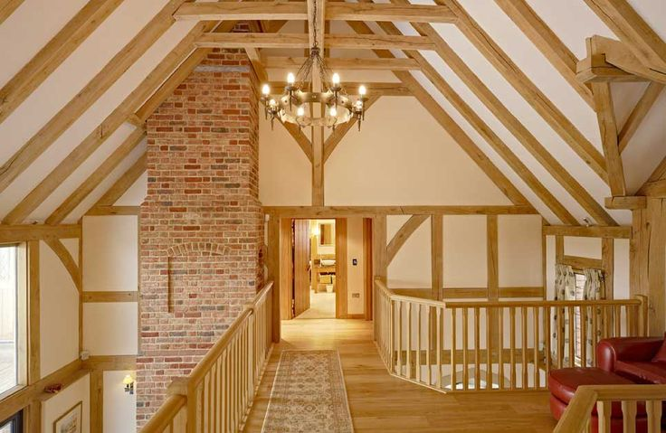 beautiful oak home
