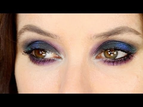Lisa Eldridge Colourful Smoky Eye