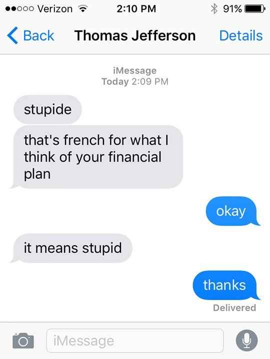 Hamilton Text Posts