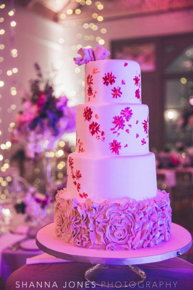Marelize & Helgard winelands wedding - the aleit group  Winelands wedding. Wedding cake. Flower stencel cake. White wedding cake. Flower cake. Wedding photos. Shanna Jones Photography. Franschhoek. South Africa.