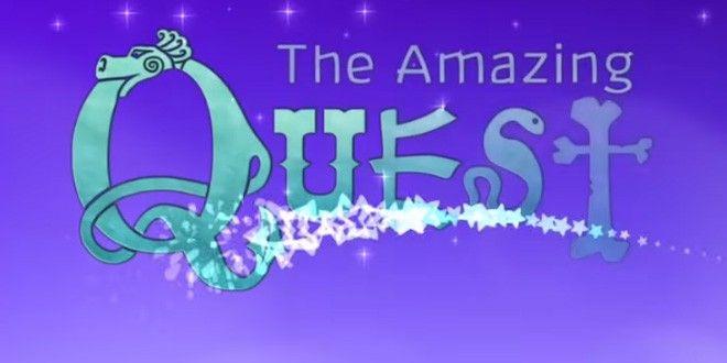 Un vrai jeu d'aventure pour enfant, The Amazing Quest
