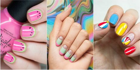 Cool nail designs for summer