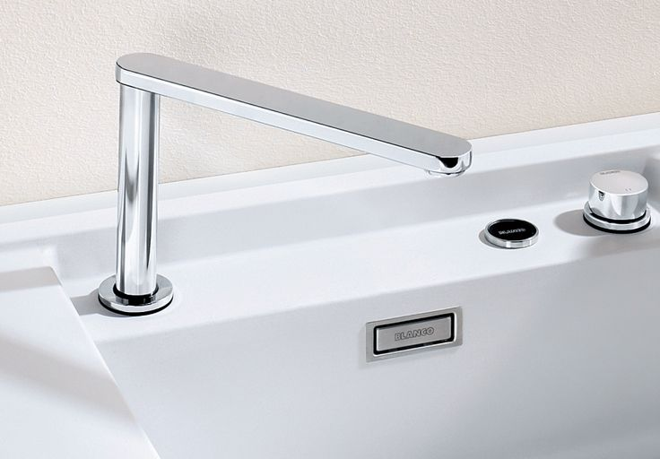 Blancoeloscope-F-II The retractable tap in the clean design. Blanco By Hafele