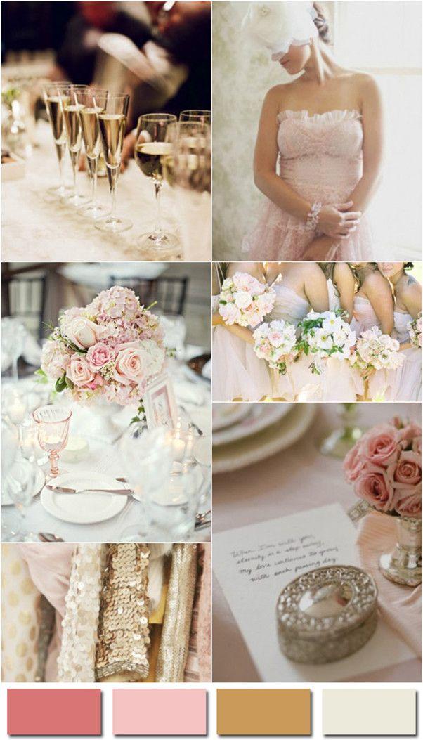 1000 Ideas About Blush Champagne Wedding On Pinterest