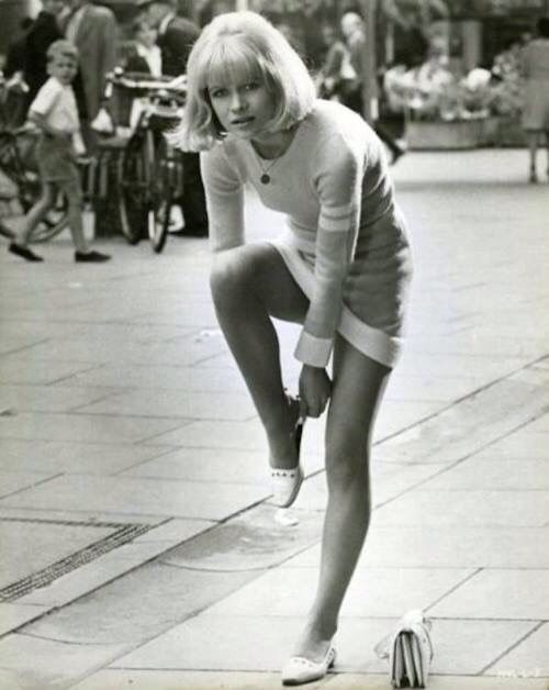 Actress Judy Geeson - Sixties