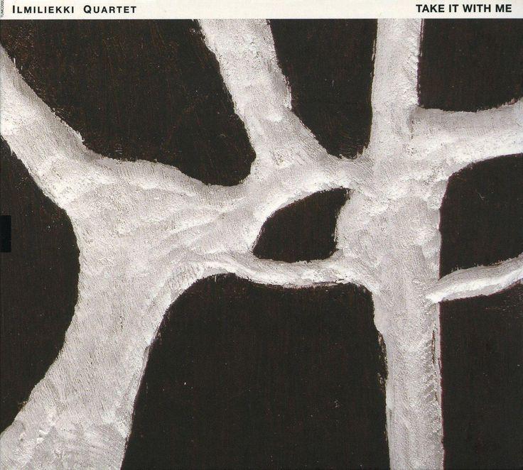 "2006 Ilmiliekki Quartet - Take It With Me [TUM Records TUMCD020] artwork: Marika Mäkelä ""Skeleton"" (2006) #albumcover #Abstract #art #Jazz #music"