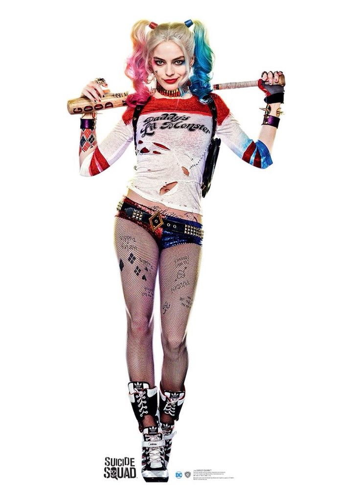 Margot Robbie as Harley Quinn costume by Kate Hawley