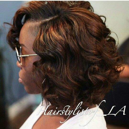 Full Sew in Bob with No Leave Out