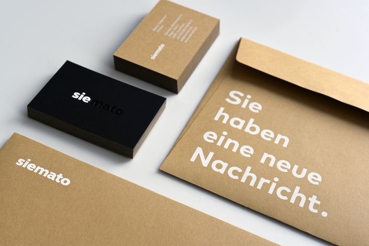 Geschäftsausstattung für »siemato« Drucktechnik: Siebdruck, Heißfolienprägung Papier Visitenkarte: Sirio Ultra Black 370 g/qm gegen Materica Kraft 360g ,Duplex-Kaschierung Kunde: www.siemato.at // #letterjazz #letterpress #businessstationery #businesscard #envelope #screenprinting #hotfoil #hotfoilembossing #corporatedesign #printstudio #visitenkarte #geschäftsausstattung