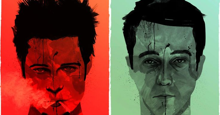 Two Assascenes: Fight Club (1999) Analysis of pivot scene. Fight with Angel Face