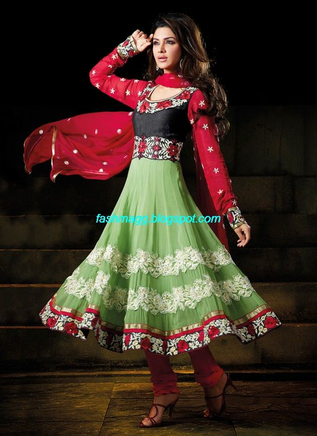 New-Designers-Anarkali-Frock-Churidar-Salwar-Kameez-Latest-Fashion-Dress-9