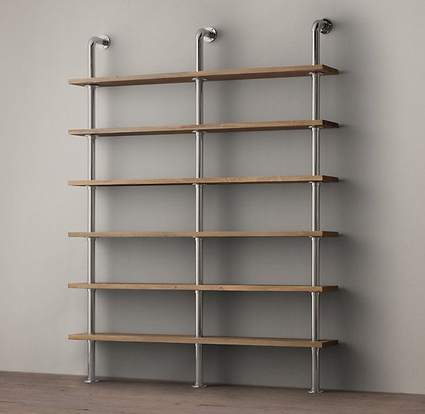 A Maritime Shelf System, in Polished Nickel, we can always do with more storage