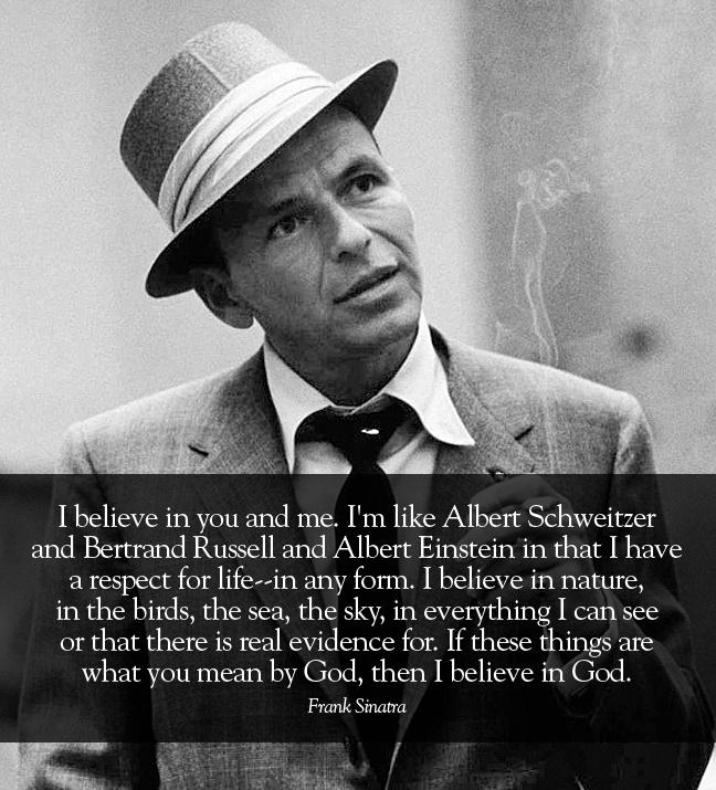 Sinatra Quotes