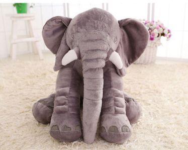 宜家大象公仔抱枕毛绒玩具陪睡娃娃宝宝睡觉玩偶布娃娃生日礼物女