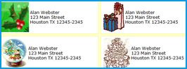 free address labels, free custom and personalized address labels maker