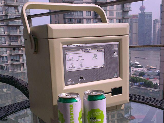MaCool Is Your 8-Bit Beverage Cooler Based On A Retro Macintosh #geek