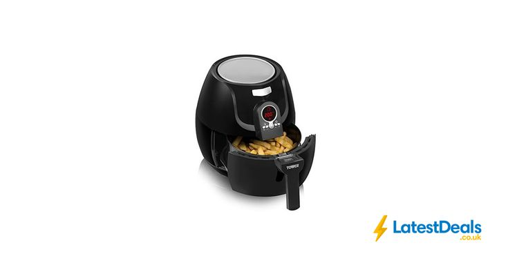 Tower Low Fat Rapid Air Fryer with Digital Timer, 1400 W, 3.2 L, £57.99 at Amazon