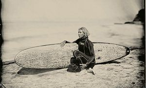 Female surfers photographed using century-old technique – in pictures | Art and design | The Guardian