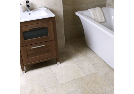 Only found in the southern Antalya region of Turkey, This style of marble tile gives a real feeling of grandure and strength due to its tumbled edges, textured surface and its 15mm thickness. Rich veining and a Tumbled finish make this marble tile perfect to suit all areas of your home including Kitchens, Bathrooms, Conservatories and Hall Ways. The Opus pattern contains for sizes 60x40, 40x40, 20x40 and 20x20cm.