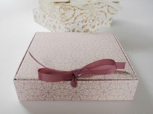 Gift Box, Rosy, Bow, Wedding