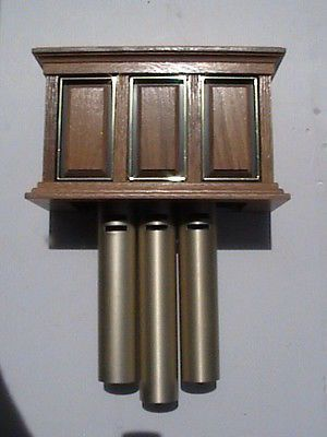 Vintage Nutone Door Chime Bell Works With Oak Cover Rare