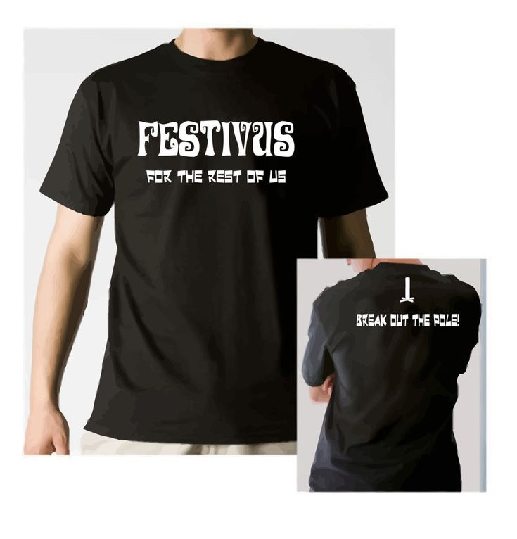 Happy Festivus T-shirt For The Rest Of Us Funny Humor Holiday Parody Gag Gift  #Handmade #festivus #fortherestofus #pole #featsofstrength #grievances #tee #tshirt #seinfeld  #GraphicTee