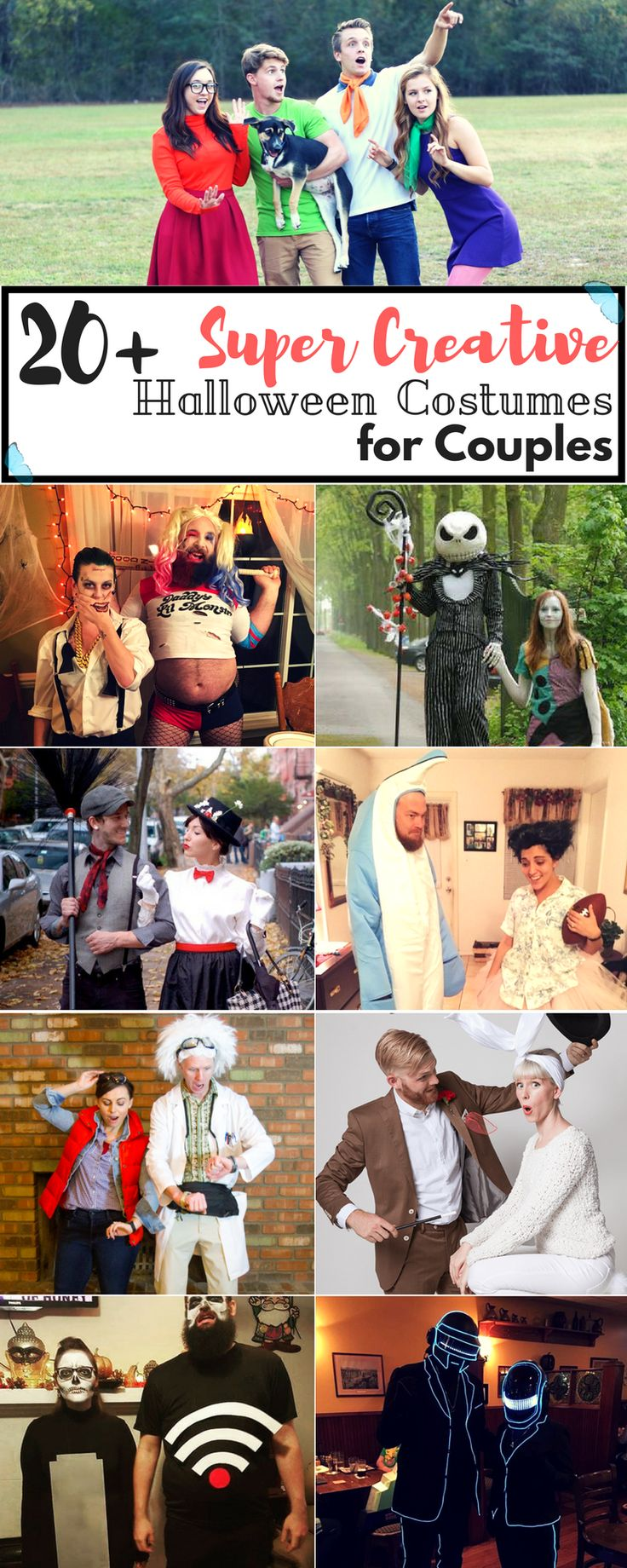 Happy Halloween lovely dreamers! As you can see, we're crazy in love with Halloween, so today we've got for you another 20+ list, Halloween edition! Today we're focusing on those couples that absolutely rocked the party with their super creative Halloween costumes for couples!