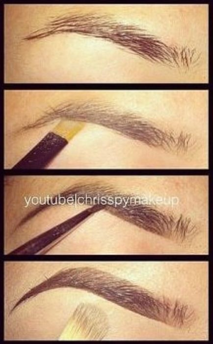 We <3 this! 32 Makeup tips you need to know! Especially how to properly define your eyebrows.