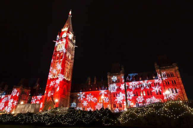 Seasons Greetings From Milot Law Parliament Hill By The Ottawa Sun