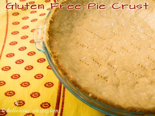 Simple #GlutenFree #Paleo pie crust with just 5 ingredients! // DeliciousObsessions.com