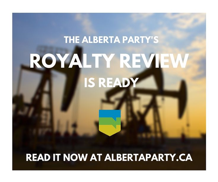 .@AlbertaParty royalties plan focused on sustaining prosperity, continued growth of #Alberta's energy industry
